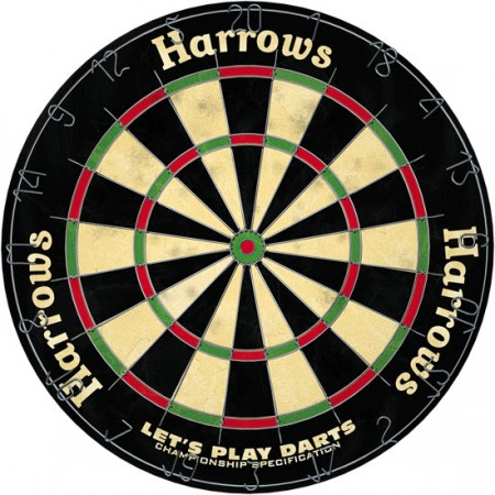 PIKADO TARČA LET`S PLAY DARTS HARROWS