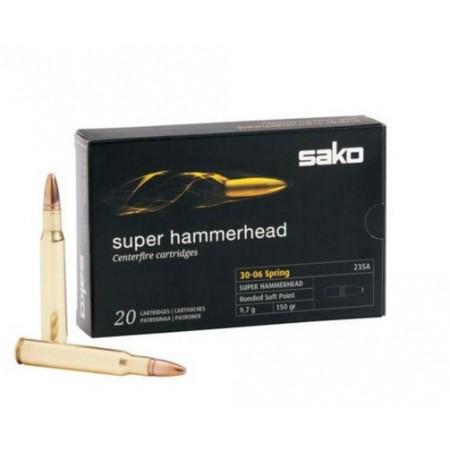 NABOJ SAKO 30-06 SPRG SP 235A Super Hammerhead 9,7/150 P631235A