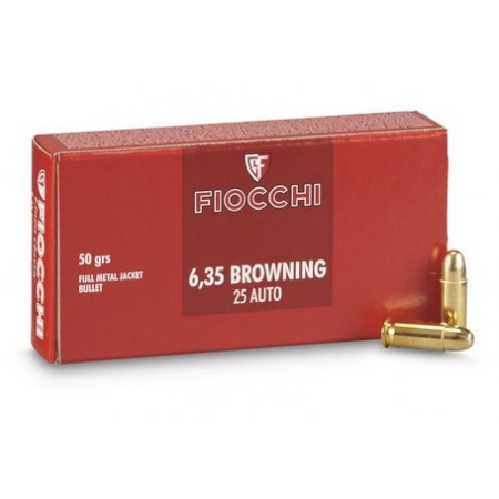 NABOJ FIOCCHI 6,35 BROWNING RAM FMJ 70635000
