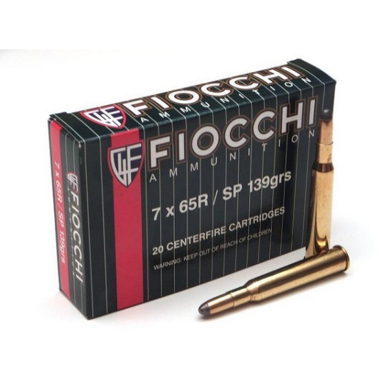 NABOJ FIOCCHI 7x65R SP 139N 70996300
