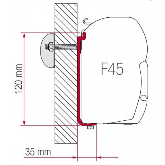 Kit S 120 za montažo Fiamma