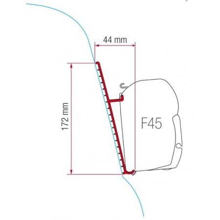 Kit za montažo Fiamma za Fiat Ducato s prtljažnikom