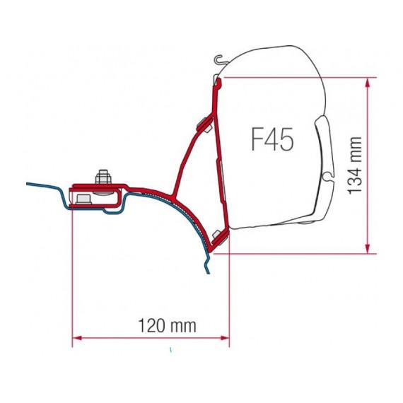 Kit za montažo Fiamma za VW T5/T6, Transporter Multivan