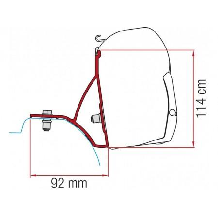 Kit za montažo Fiamma za Renault Master, Opel Vivaro, ...