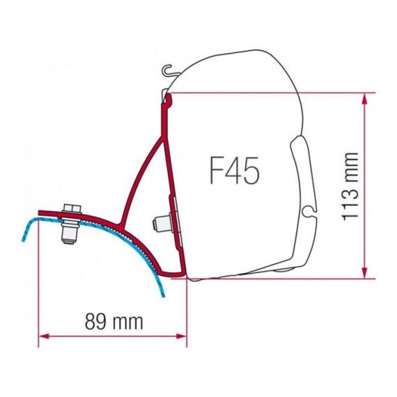 Kit za montažo Fiamma za Renault Trafic, Opel Vivaro, Nissan Primastar