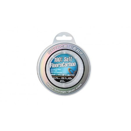Laks Savage Gear Soft FluoroCarbon 0,26 50m 54849