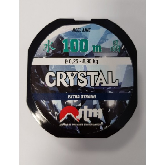 Laks Fassa Crystal 100m 0,25mm 100025