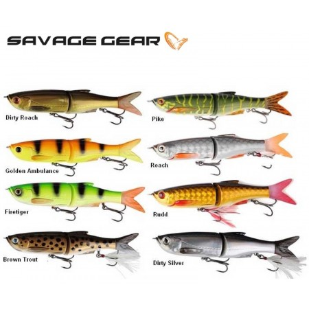 VABA SAVAGE GEAR 3D BLEAK135 GLIDE SWIMMER 13,5cm 28g PERCH 47066
