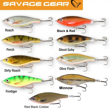 Vaba Savage Gear 3D Roach Jerkster 145 14,5cm SS Dirty Roach 50520