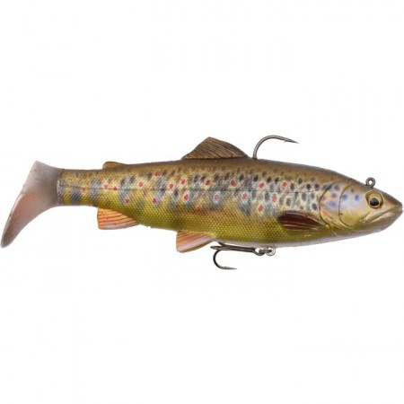 Vaba Savage Gear 4D Trout Rattle Shad 20,5cm 120g MS Dark Brown Trout 57413