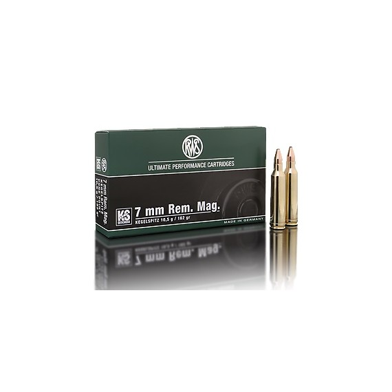 Naboj RWS 7mm REM.MAG.KS 10,5g