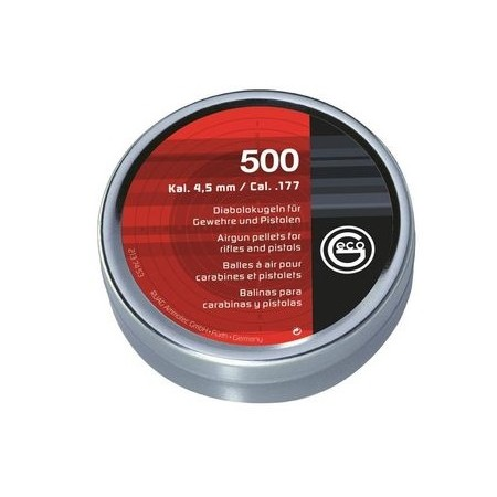 DIABOLO GECO 4,5mm gladek 2137453 500kos