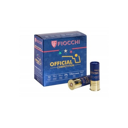 NABOJ FIOCCHI OFFICIAL TRAP 24g K.12 7,5 86241700