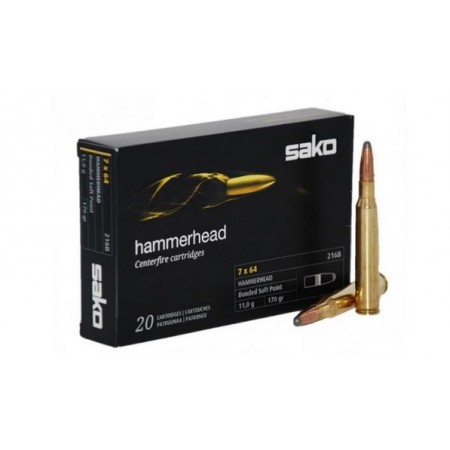 NABOJ SAKO 30-06 SPRG SP 256A Hammerhead 11,7/180 P631256A