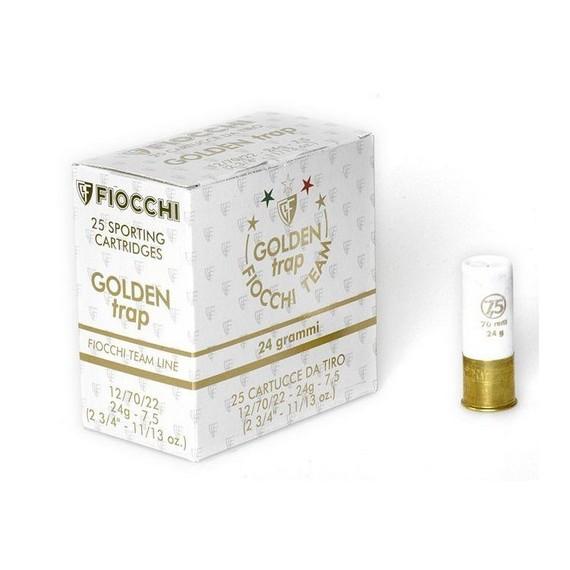 NABOJ FIOCCHI TRAP GOLDEN 24g K.12 7,5 86237700