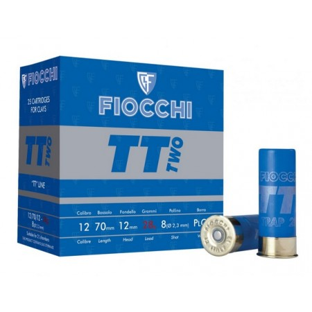 NABOJ FIOCCHI T.TRAP TWO 28g K.12 7,5 86221700