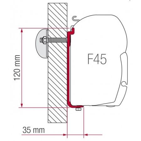 Kit AS 120 za montažo Fiamma