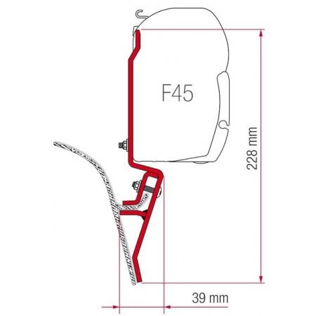 Kit za montažo Fiamma za VW T3