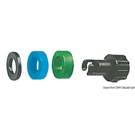Adapter tlačilke za gumenjake