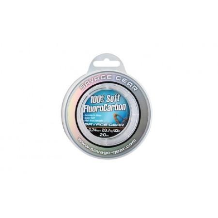 Laks Savage Gear Soft FluoroCarbon0,46 35m 54853