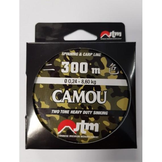 Laks Fassa Camou 1000m 0,34mm 1000034