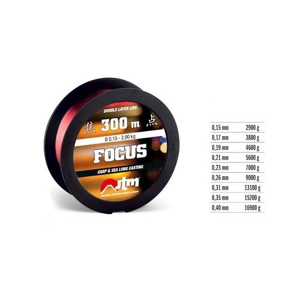 Laks Fassa Focus 1000m 0,35mm 1000035