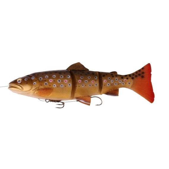 Vaba Savage Gear 3D Line Thru Trout 20cm MS Dark Brown Trout 48792