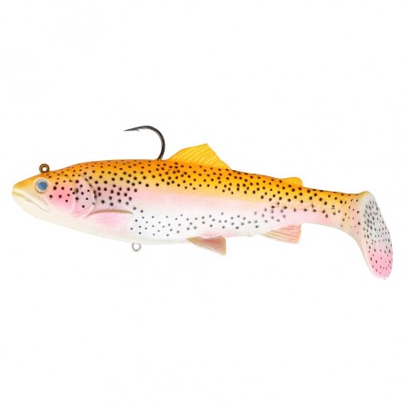 Vaba Savage Gear 3D Trout Ratle Shad 17cm Golden Aalbino Rainbow 47086