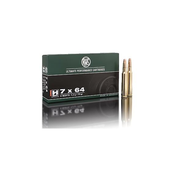 NABOJ RWS 7x64 HMK 11,2g 2117517