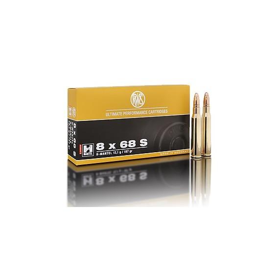 NABOJ RWS 8x68S HMK 12,1g 2118114