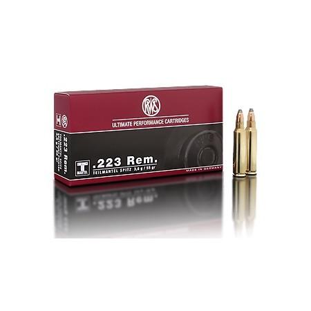NABOJ RWS 223 REMINGTON TM 3,6g 2116472