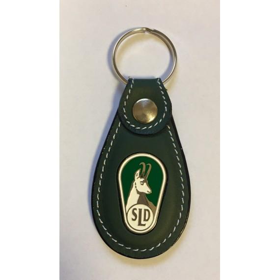 Obesek za ključe SLD usnjen