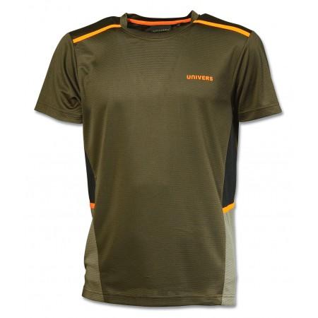 MAJICA UNIVERS tehnična zeleno/oranžna 94084392 št.S