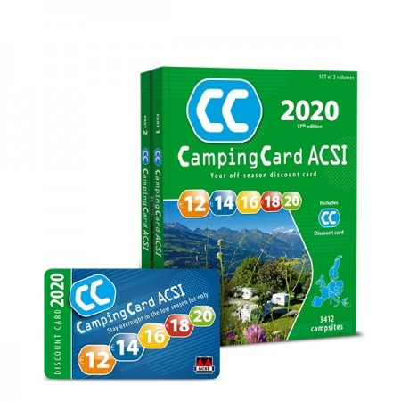 ACSI Camping card 2020, Angleški jezik