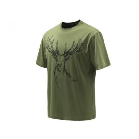 Majica Beretta T-Shirt Deer zelena