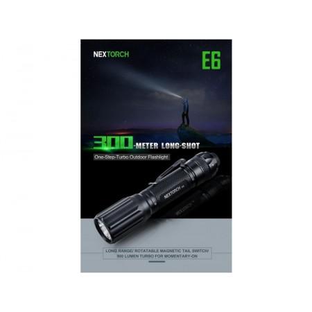 Svetilka Nextorch E6