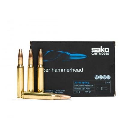 Naboj Sako 30-06 SPRG Super Hammerhead 11,7g/180grs