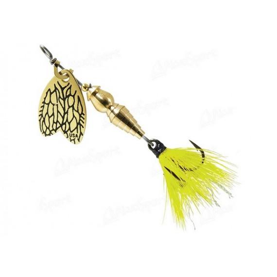 Blestivka Mepps Bug Yellow May
