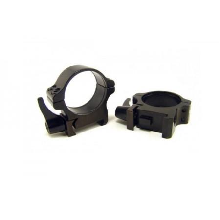Rusan Weaver Rings 30mm, quick-release, H8