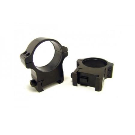 Rusan Weaver Rings 30mm, screw, H14