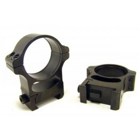 Rusan Weaver Rings 30mm screw, H17
