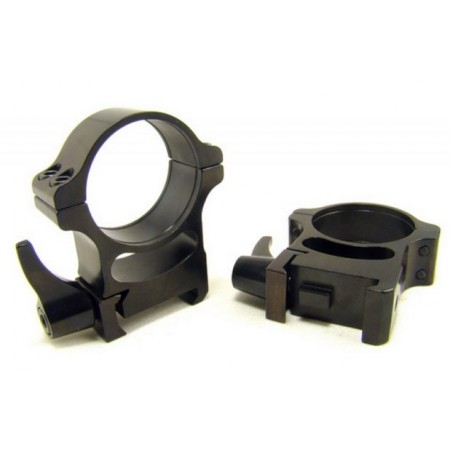 MONTAŽA RUSAN WEAVER RINGS 30mm, quick release H17