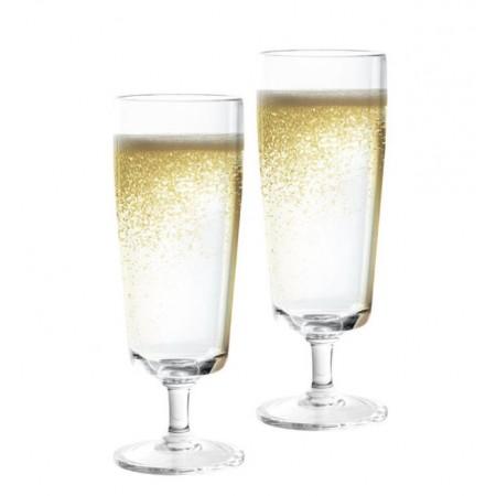 Kozarec za šampanjec 200ml 2kos