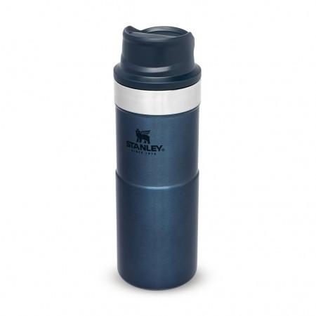 Steklenica STANLEY Classic Trigger Travel Mug 0,35L modra
