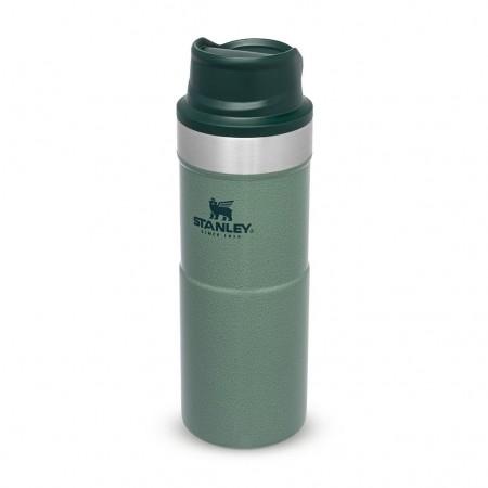 Steklenica STANLEY Classic Trigger Travel Mug 0,35L zelena
